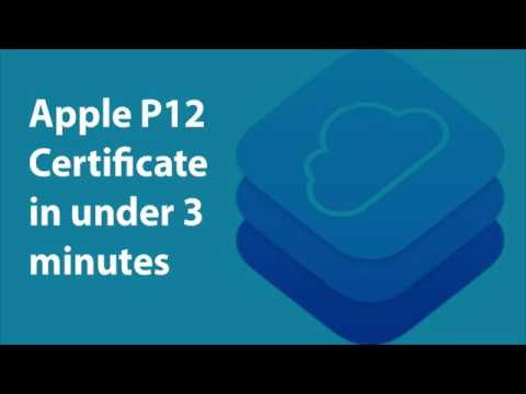 How To Generate A P12 Apple Push Certificate In 3 Minutes