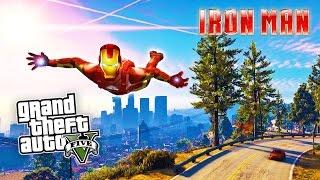 GTA 5 PC Mods - IRON MAN MOD!!! GTA 5 Iron Man Mod Gameplay! (GTA 5 Mods Gameplay)