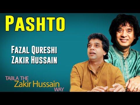 Pashto | Fazal Qureshi and Zakir Hussain(Album: Tabla- The Zakir Hussain Way)