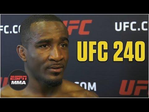 Geoff Neal recaps fight vs. Niko Price | UFC 240 | ESPN MMA