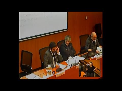 Consell de Districte de les Corts. Sessió plenària de 6/3/2018