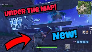 Fortnite Glitches Season 5 (100% Working) Under The Map on Tilted Towers PS4/Xbox one 2018