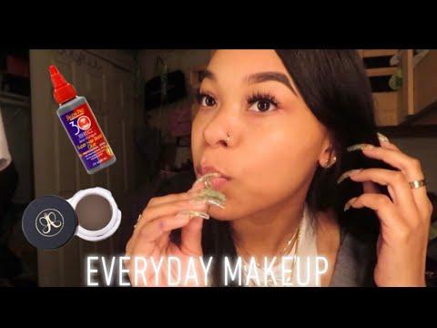 Everyday MakeUp Tutorial + Q&A 💕 * AM I SINGLE ? *