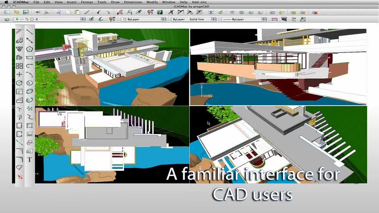 Icadmac Dwg Drawings No Learning Curve Autocad For Mac