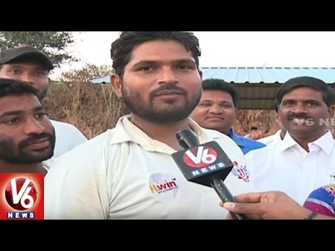 Hyderabad Corporators Cricket League 2016 Semi Finals | AS Rao Nagar Team Won | V6 News