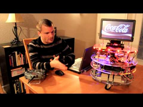 BBot! - A Beer Serving Robot - Uses Logi FPGA + BeagleBone Black Intergration