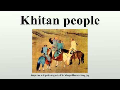 Khitan people