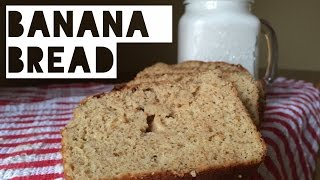 Healthy Banana Bread Recipe | How To Make Low Fat, Low Carb, Low Calorie Banana Bread