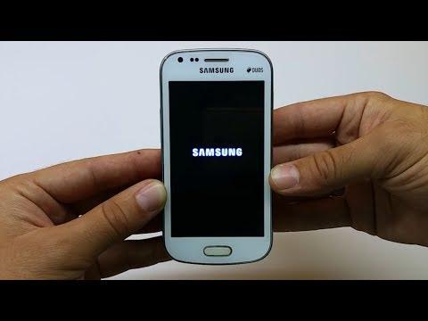 Samsung Galaxy S Duos GT-S7562 Hard Reset & Unlock Security (Pattern)
