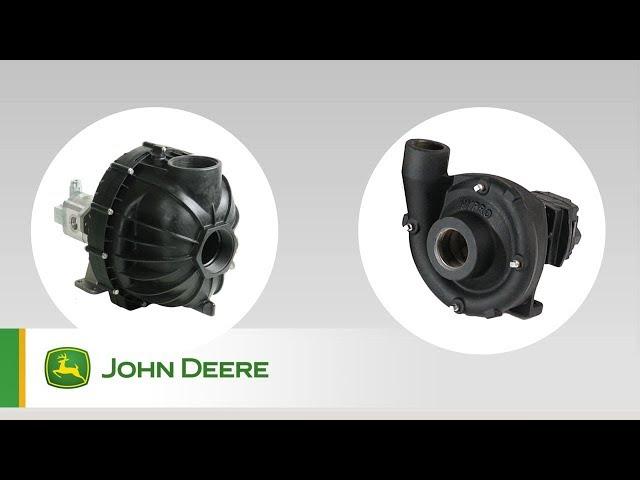 John Deere - PowrSpray - Sistema de bomba doble