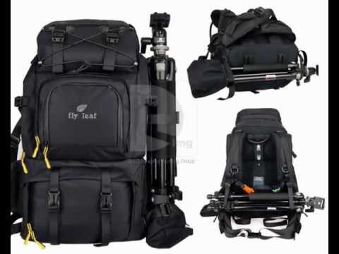 Large Professional DSLR Camera Backpack Bag - YouTube
