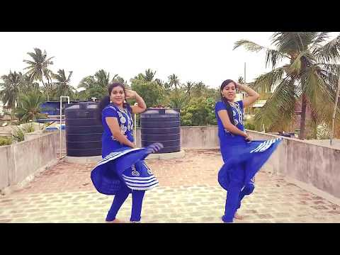 Kanyakumari Girls On Jimikki Kammal | Kumari Sisters | Kumari Dance School
