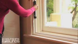 How To Install Plantation Shutters - Sunshine Blinds Instructional Video