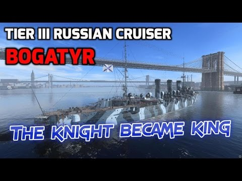 World of Warships - Ship Review: Bogatyr (WoWs gameplay)