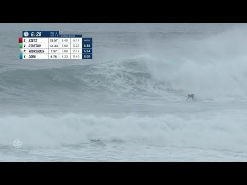 02756ee753 Sebastian Zietz s 9.77 Hack at 2017 Vans World Cup. World Surf League
