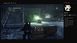 The Division, Part Thirty Nine, PS4 Live Broadcast, No Commentary, Walkthrough