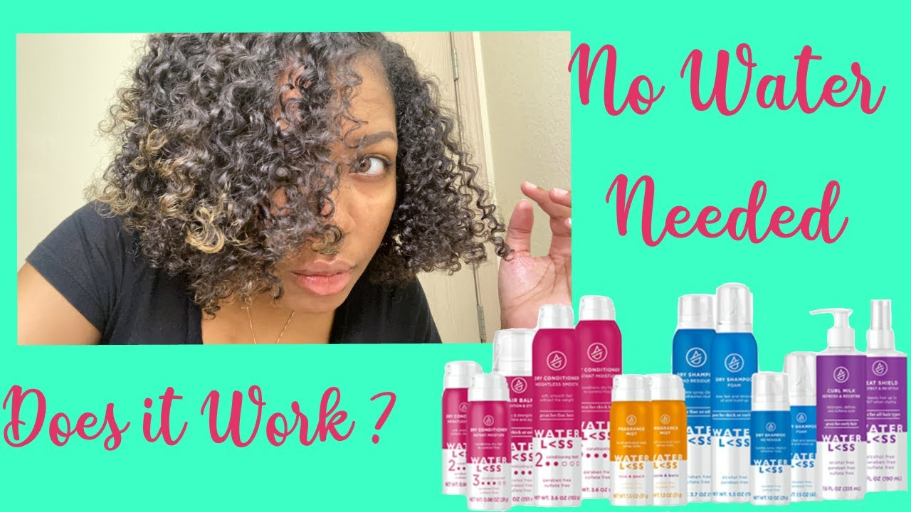 Waterless Hair Products On Natural Hair Does It Work Youtube