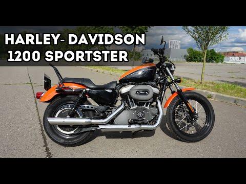Обзор Harley-Davidson 1200 Sportster - Палка о двух концах!