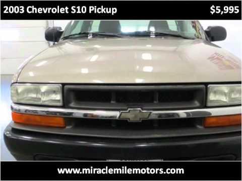 2003 chevrolet s10 pickup used cars lincoln ne youtube for Miracle mile motors lincoln ne