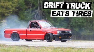 homepage tile video photo for Fully Built V8 DRIFT TRUCK OUT DRIFTS 240sx's