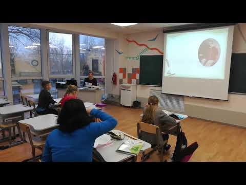 Ольгинская гимназия. Урок чтения 4 класс