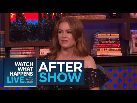 After : Isla Fisher's Girls Night With The Kardashians  WWHL