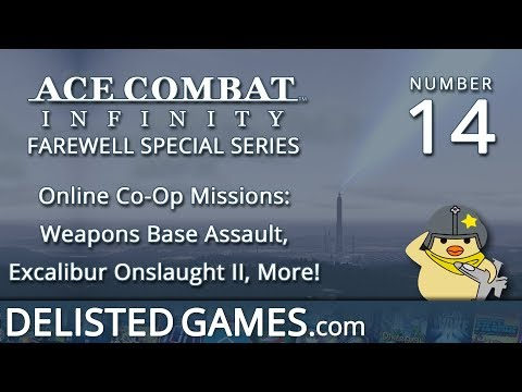 DELISTED Special: Ace Combat Infinity #14 - Online Co-Op (Excalibur Onslaught II)