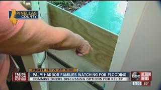Palm Harbor families watching for flooding, discussing options for relief