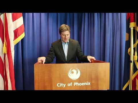 Phoenix Mayor Stanton endorses the 7th Annual Arizona Jazz Day Festival.