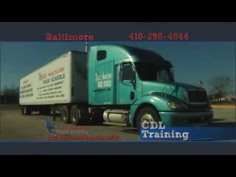 Become a Maryland Commercial Truck Driver - North American Trade Schools