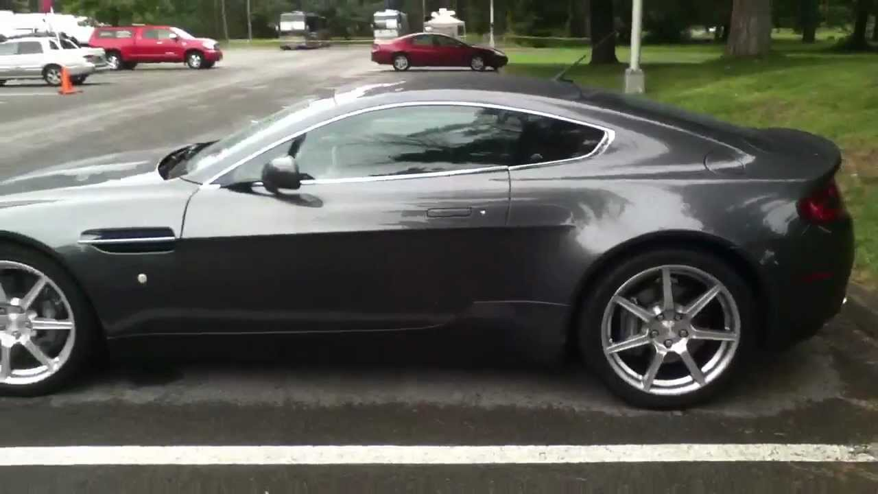 Aston Martin Vantage In Grey Youtube