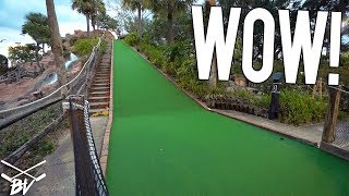 WORLD'S TALLEST MINI GOLF HOLE?! + LUCKY HOLE IN ONES!