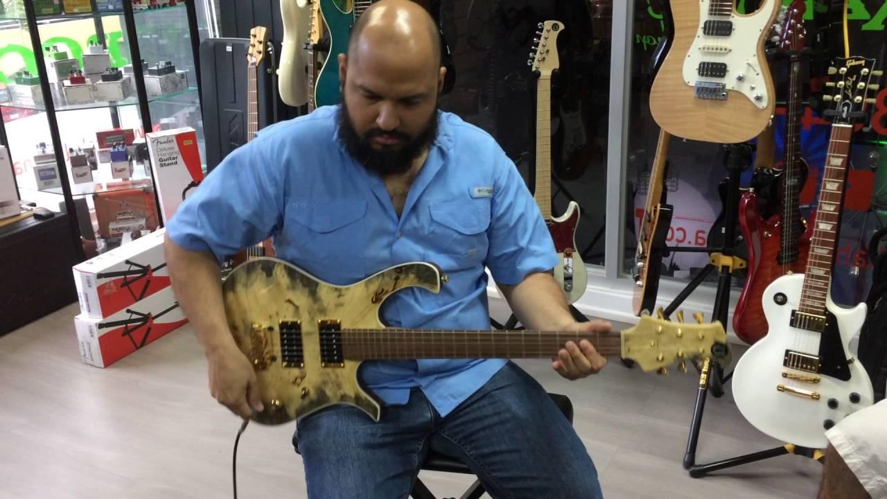 Deluxe Model Guitar  Tony.Dwax  Artist