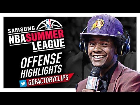 Josh Jackson 2017 Summer League Offense Highlights - Phoenix Suns Debut!