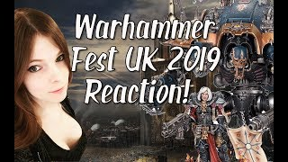 Warhammer Fest UK 2019 Reaction! Tons of Crazy New Models!