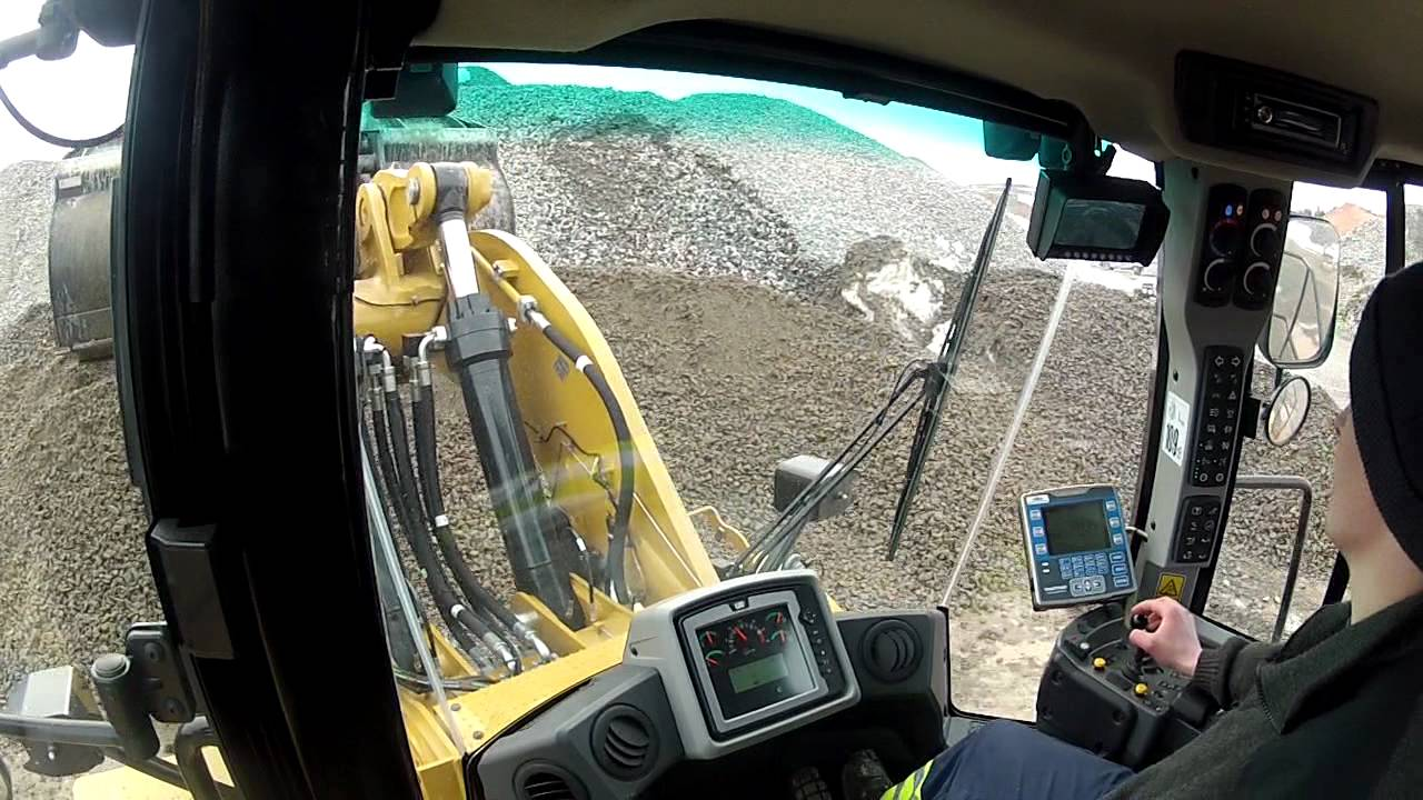 New Cat 980k Cabview Go Pro Hd Hero2 Youtube