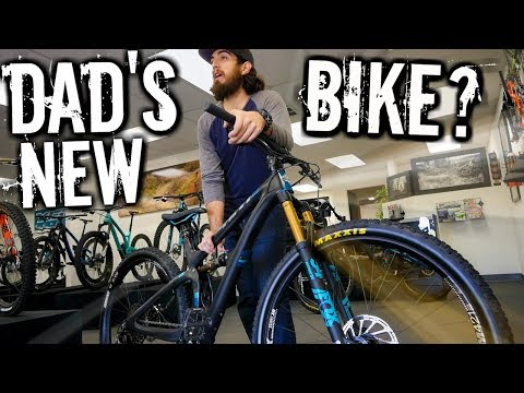 Dad's New Bike Day | How To Buy a Custom Mountain Bike at World Wide Cyclery | Yeti SB 4.5 MTB