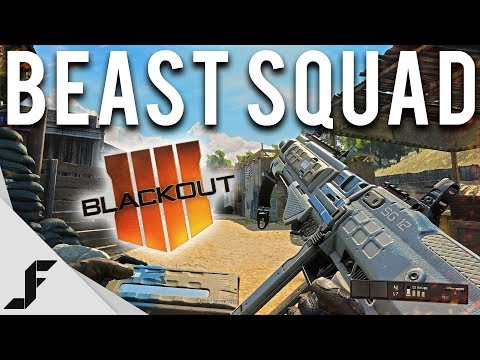 BEAST SQUAD - COD Blackout Gameplay ( RTX SQUADS )