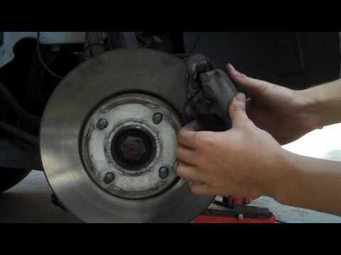 focus front brake pad replacement part 1 -