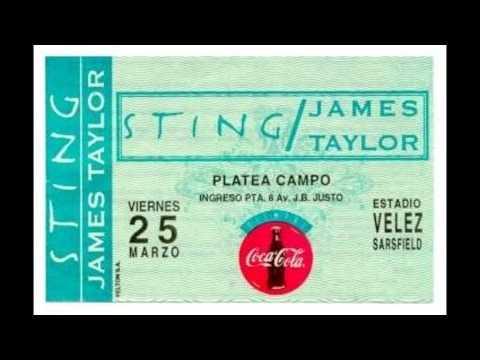 """STING - Buenos Aires 25-03-1994 """"Estadio De Velez Sarsfield"""" Argentina (Soundboard Recording)"""
