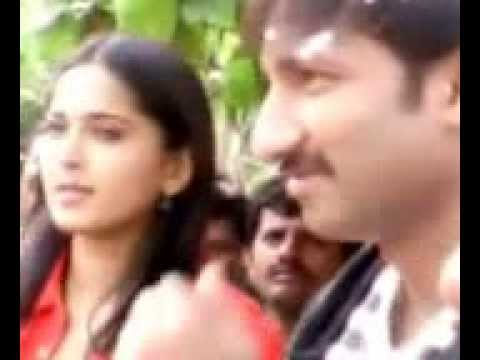 Anushka Shetty & Gopichand in MLRIT college Aero function