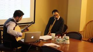 Music of the Ottoman Empire - Lecture & Demonstration by Ahmet Erdogdular