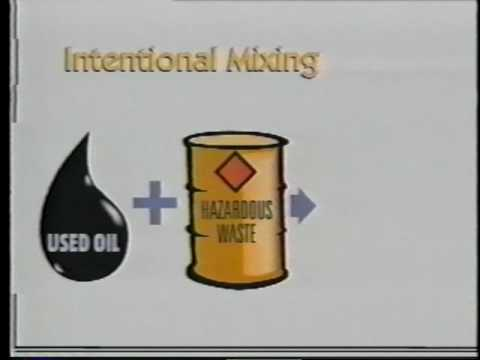 The Used Oil Management Standards