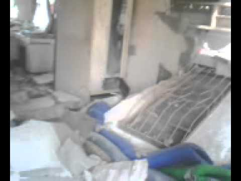 My house, Sagbayon Bohol. Earthquake, 2013