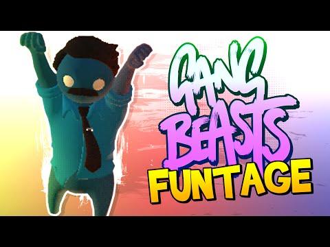 Gang Beasts FUNTAGE! - I'm BAD at this Game!