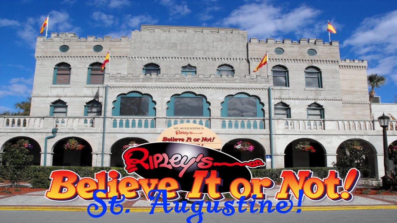 Image result for st augustine ripley's believe it or not