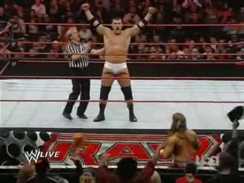 WWE Raw 09.03.02 Vladimir Kozlov Vs. Shawn Michaels Part 1