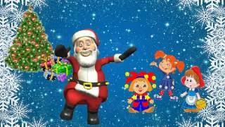 №62. Клип 'Шёл весёлый Дед Мороз'. I Международный детский конкурс IN-KU 'Песенная карусель 2016'