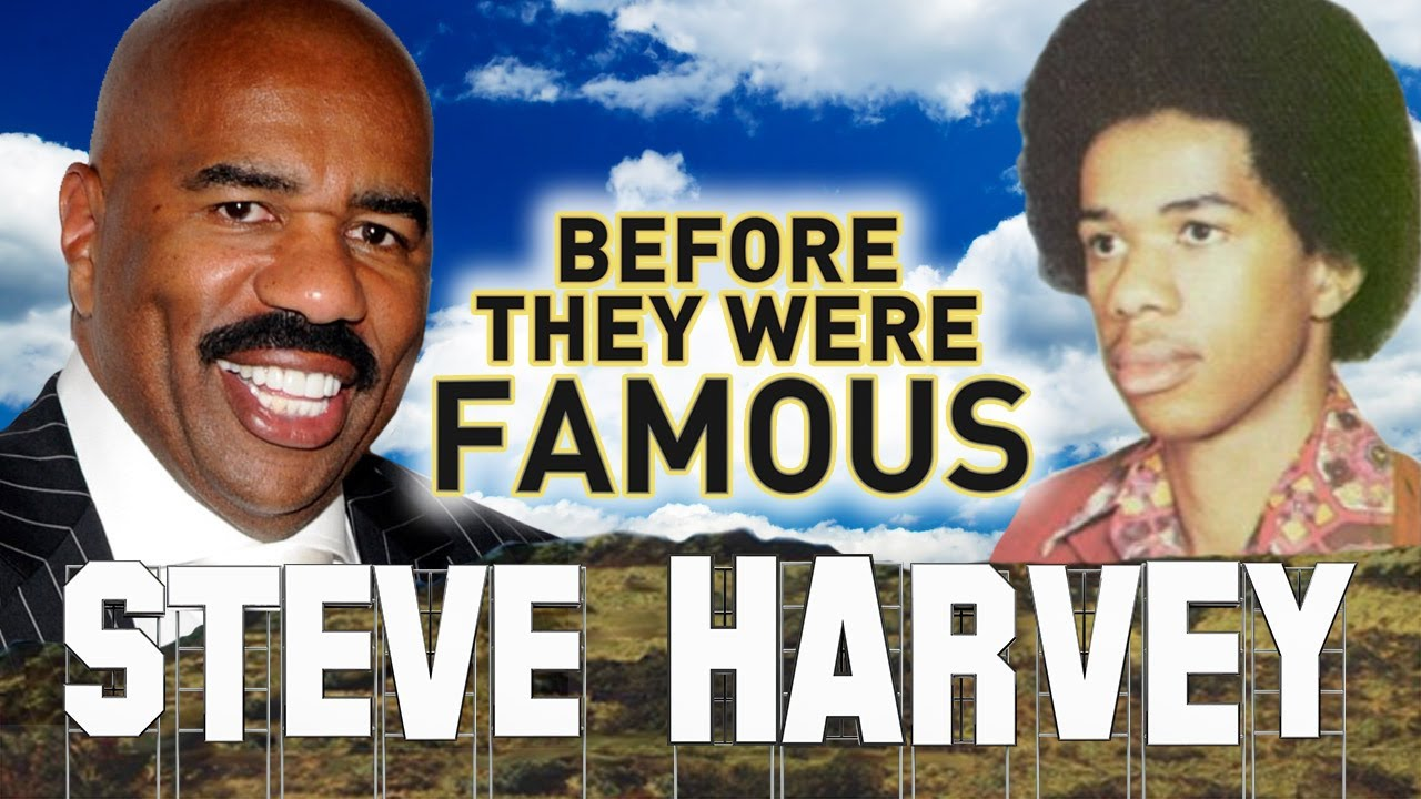 STEVE HARVEY - Before They Were Famous - BIOGRAPHY