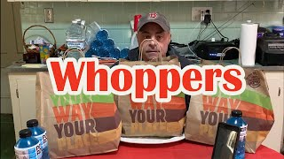 Most Whoppers Ever!!!